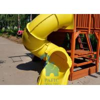 Buy cheap Twist Type Children's Swing Set With Slide For Outdoor Backyard from wholesalers