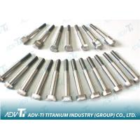 Buy cheap DIN 610 Titanium hexagon fitted bolts , short thread Titanium Fastener from wholesalers
