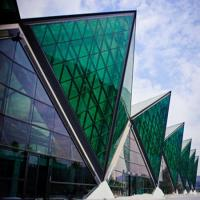 Buy cheap Energy saving soundproof reflective nsulated glass curtain wall from wholesalers