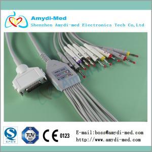 Buy cheap Fukuda Denshi ekg /ECG cable for 10 Leadwires product