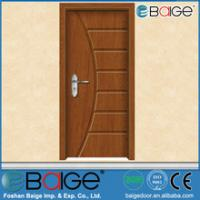 Buy cheap Foshan Baige BG-P9233 Cheap PVC Interior MDF Laminate Wood Door from wholesalers