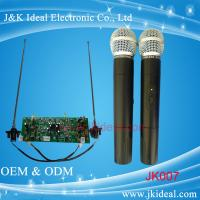 Buy cheap JK007 Professional wireless microphone with two channels for conference system from wholesalers