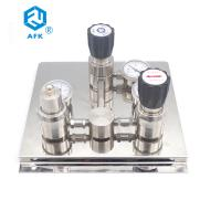 Buy cheap AFK R1100 Semi-automatic Changeover Switch Device with Stainless Steel Pressure Reducing Valve from wholesalers