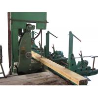 Buy cheap 60 Inch Wood Cutting Vertical Bandsaw Mill With Log Carriage,Log Band Sawmill Machine from wholesalers