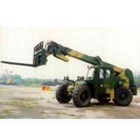 Buy cheap Rear Wheel Steering Telescopic Reach Forklift , Hydraulic Brake Boom Lift Truck Rental from wholesalers
