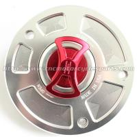 Buy cheap Anodized Motorcycle Gas Tank Cap Light Weight Quick Release For Kawasaki Z750 Z1000 from wholesalers