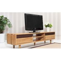 Buy cheap Antique Double Wooden Low Tv Stand , Economic Contemporary Tv Stands High Standard from wholesalers