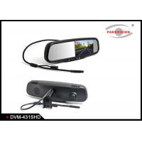 Buy cheap 1,000cd / M² Rear View Mirror Backup CameraWith Dual Lens Video Recording product