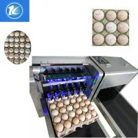 Buy cheap 1600x410x980mm Size Egg Jet Printer Machine With Low Maintenance Costs from wholesalers