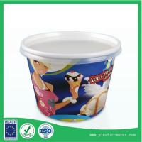 Buy cheap yogurt or ice cream paper cup 300 ml with lids supplier from wholesalers