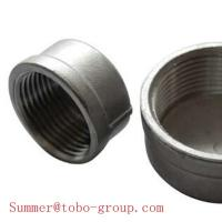 Buy cheap Stainless steel pipe fittings railing hardware end cap from wholesalers