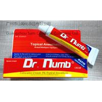 Buy cheap Dr. Numb(Topical Anesthetic) 10g-strong quality Lidocaine 5% Topical Anesthetic from wholesalers