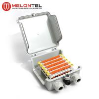 Buy cheap Plastic Connected Modular 50 Pair QCS Distribution Box For 2810 Module MT 3513A from wholesalers