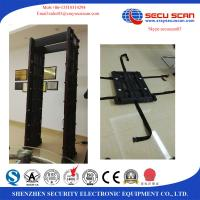 Buy cheap Movable Walk Through Metal Detector Door Security Devices With Face Recognition System from wholesalers