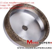 Buy cheap 6A2 Metal Bond Diamond Cup Wheel for Straight Edge Machine alan.wang@moresuperhard.com from wholesalers