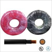 Buy cheap Halogen Free Solar PV Cable UV Resistant 12 AWG Solar Cable UL4730 Approval from wholesalers