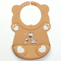 Buy cheap Thanksgiving Gift Plain Baby Bibs , High Chair Colored Cross Stitch Bibs from wholesalers