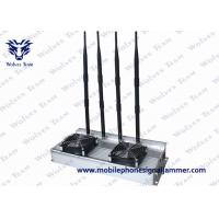 Buy cheap High Power Mobile Phone Signal Jammer Indoor 45W Omni Directional Antennas GSM CDMA from wholesalers