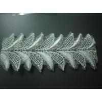 Buy cheap leaf shape polyester lace trim(Item No.HF-P1024#) from wholesalers