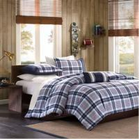 Buy cheap Bedding Quilt Cotton Patchwork Quilt / Luxury Hotel Bedding Sets , Purple from wholesalers