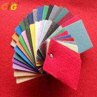 Buy cheap Multi Colors Auto Carpet Fabric For Internal Decoration Plain / Brushed / product