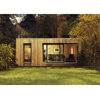 Buy cheap CFC Board Ceiling Prefab Garden Studio Wooden House Kit With WPC Wall Cladding from wholesalers