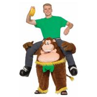 Buy cheap Brown Yellow Green Riding Animal Mascot Costumes Monkeying Around Costume from wholesalers