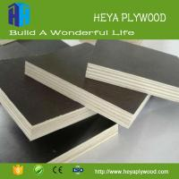Buy cheap New building construction materials black film faced plywood 8mm - 18mm from wholesalers