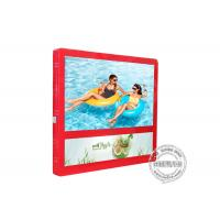 Buy cheap 27 Inch Red Colour Wall Mount LCD Display Light Box For Elevator Advertising from wholesalers