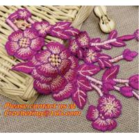 Buy cheap Embroidery Lace Collar Applique Neckline Lace Crochet Flower Motif Patchwork Sewing Access from wholesalers
