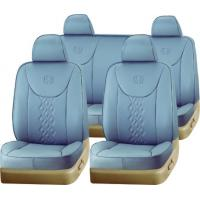 Grey PVC Car Seat Cover FZX014