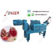 Buy cheap Commercial Juice Maker Extractor Pomegranate Juice Making Machine from wholesalers