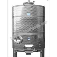 Buy cheap hot sale 1500L stainless steel wine fermentation tank with laser welding jacket from wholesalers