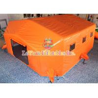 Buy cheap Airtight Outdoor Inflatable Tent / Portable Waterproof Inflatable Medical Tent from wholesalers