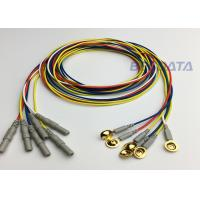 Clinical EEG Measurement EEG Disc Electrodes Multi Color OEM / ODM Acceptable