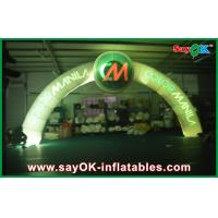 Buy cheap 5*3m Huge Inflatable Arches Led Light Colourful Practical Event For Race Gate from wholesalers