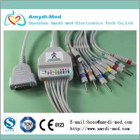Buy cheap ISO 13485& CE Approved GE Marquette EKG cable with integrated 10 leadwires product