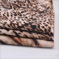Buy cheap Rusha Textile Knitted Single Jersey Animal Printed 97% Viscose 3% Spandex Spun Rayon Fabrics Manufacturers from wholesalers