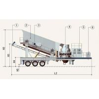 Buy cheap Low-input high-yield Movable jaw crusher plant for sale from wholesalers