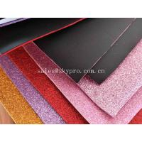 Buy cheap Recycle Goma Glitter EVA Foam Sheet 38 Degree Hardness , 1.2-44mm Thickness from wholesalers