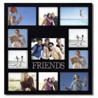 Buy cheap Friends Wood Collage Wall Hanging Decor Picture Frame Teen Dorm Graduation Gift from wholesalers