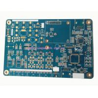 Buy cheap 94V0 Double Sided PCB Board with ENIG finishing and Blue solder mask from wholesalers