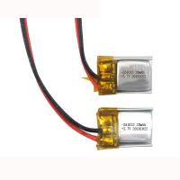 Buy cheap Small Lithium Polymer Battery 3.7V 351013 20mAh for GPS Tracker Light Weight from wholesalers