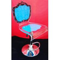 Buy cheap Colorful Modern Acrylic Furniture / Acrylic Chair With Rolling Base from wholesalers