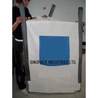 2200LBS U-panel sand / cement / soil  FIBC Jumbo Bag , 5-1 Safety factor