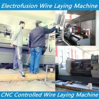 Buy cheap PE electrofusion fittings wire laying pipe fitting wire laying machine pe coupling wire la product