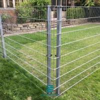 Buy cheap Garden Galvanized Wire Fence Panels 200 X 50mm Mesh Hole High Performance from wholesalers