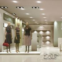 Buy cheap garment showroom design/garment shop fitting from wholesalers