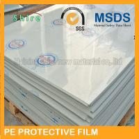 Buy cheap Plastic Panel Hard Surface Protection Film Polyethylene Protective Tape No Bubble from wholesalers