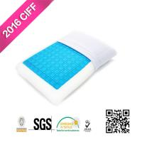Buy cheap Sleep Cool Cooling Gel Reversible Memory Foam Loft Pillow For Neck Pain | MEIMEIFU MATTRESS from wholesalers